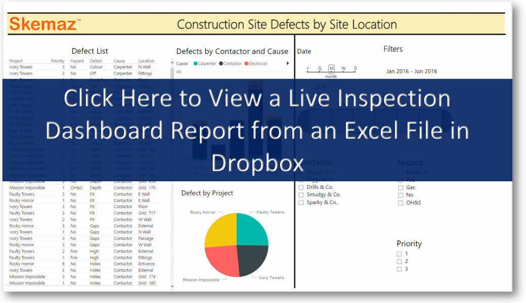 Defect Inspections for Construction Report